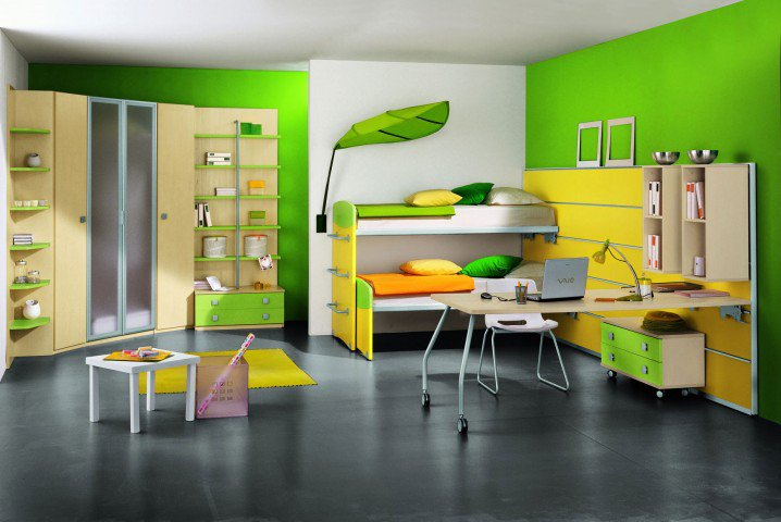 Những thiết kế phòng ngủ hiện đại dành cho trẻ em