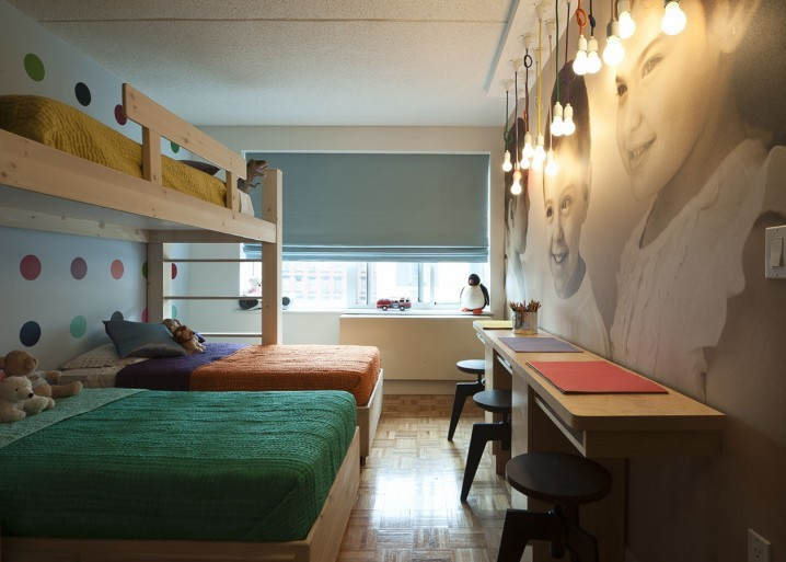 Thiết kế phòng ngủ cho nhà có nhiều đứa trẻ