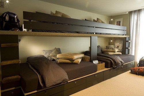 Thiết kế giường tầng dành cho phòng ngủ của trẻ