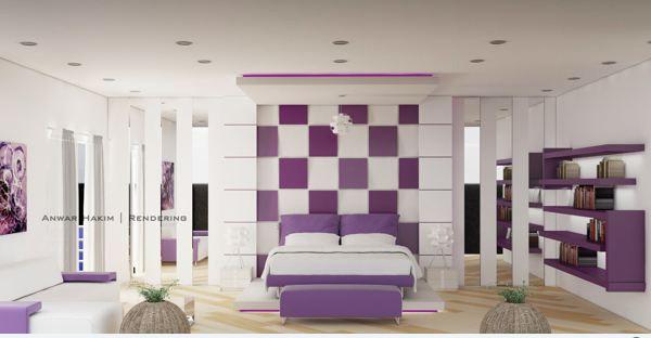 Nhấn nhá sắc màu cho phòng ngủ đẹp