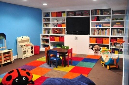 Thiết kế khu vực chơi cho trẻ